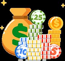 contante betaling bonus